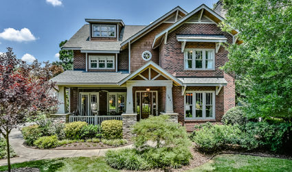 Gorgeous, highly detailed craftsman nestled in Myers Park