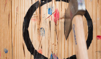 Axe-throwing bars are a thing, and there's one coming to Charlotte...
