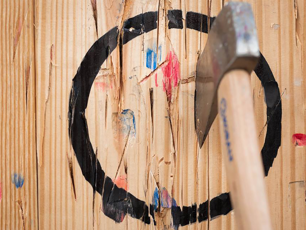 Into axe-throwing? You will soon be able to try it in Belmont this fall