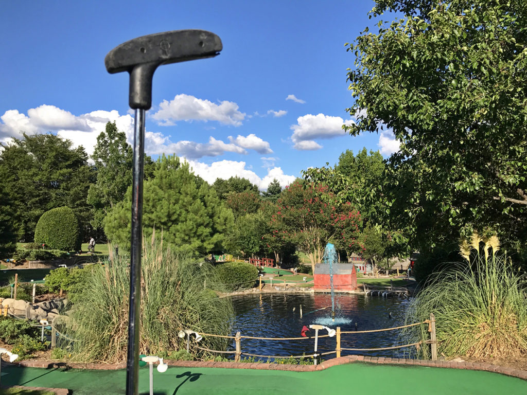 It's about time Charlotte gets mini golf
