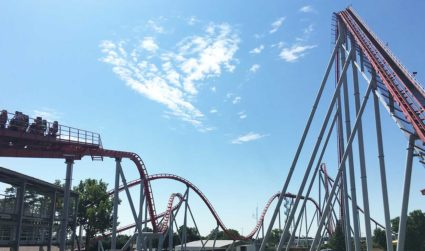 I rode 26 rides in 12 hours and spent $70 total at Carowinds. Here's how to do everything for (relatively) cheap and in one day.