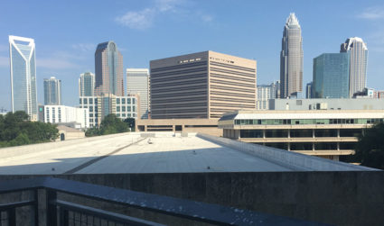 The Mecklenburg County Courthouse has one of the nicest facilities for...