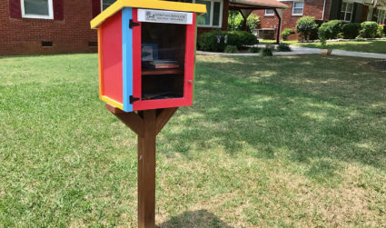 Charlotte now has about 100 Little Free Libraries