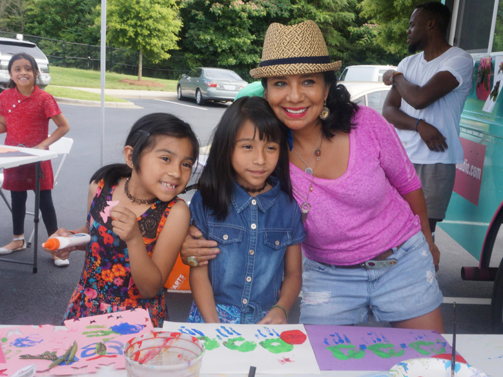 Rosalia Torres-Weiner's food truck-turned-art studio helps young immigrants cope