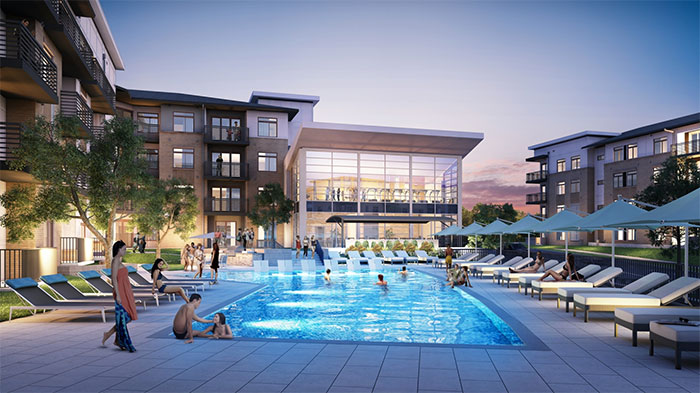 the-abbey-pool-montford-charlotte-apartments