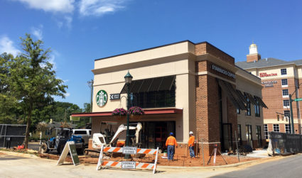 Starbucks targets August 11 for SouthPark grand opening. This two-story coffee...