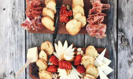The Charlotte charcuterie and cheese board superlatives