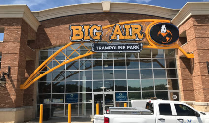 A 37,000-square-foot trampoline park, complete with a Ninja Warrior course and...