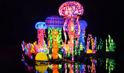 Buy your tickets now for the Chinese Lantern Festival at Daniel Stowe Botanical Gardens on display Wed-Sun starting 9/7