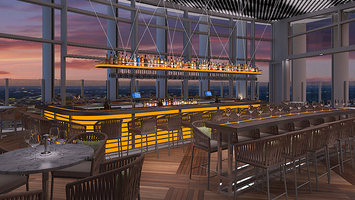 Details emerge on modern italian restaurant and rooftop for Terrace restaurant charlotte