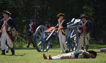 History nerd? Mark your calendar for Latta Plantation's Revolutionary War re-enactment...