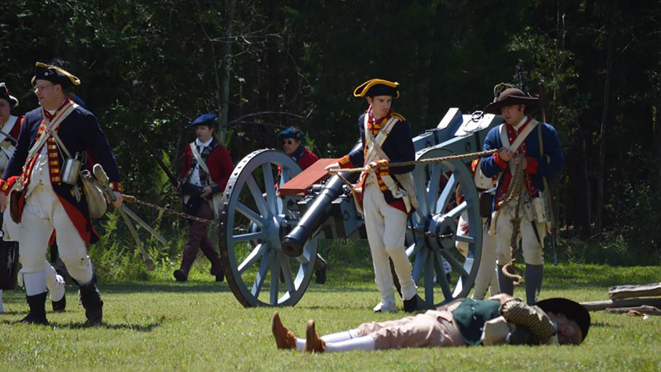 History nerd? Mark your calendar for Latta Plantation's Revolutionary War re-enactment featuring 3 battles over 2 days
