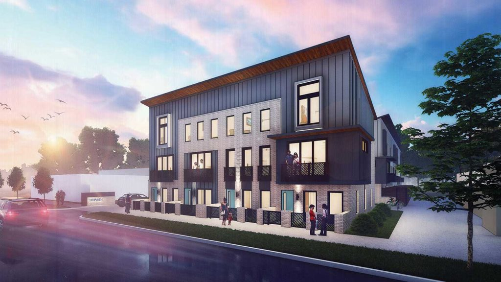 20 new townhomes priced between $275,000 and $350,000 coming to South End
