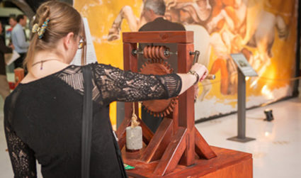 Opening of Da Vinci's Machines