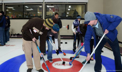 Sharpen your curling skills then enjoy snacks and beer with Rocktoberfest Curling Lessons, offered daily from now until October 1, $26.50/person