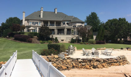 Thank you Lord Baby Jesus for this Lake Norman mansion: Ricky...