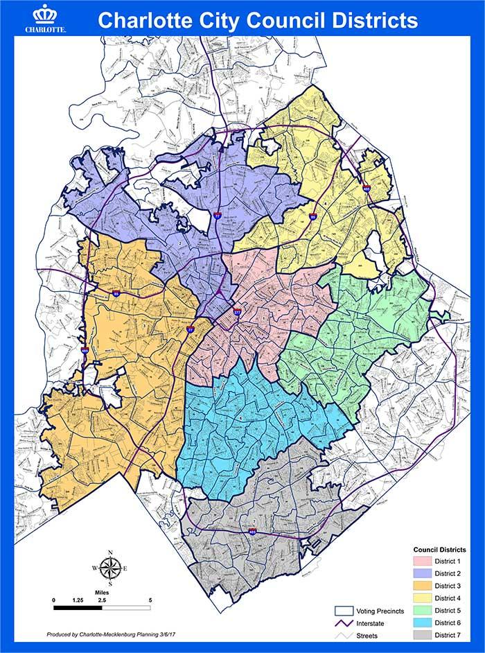 Charlotte City Council Voting
