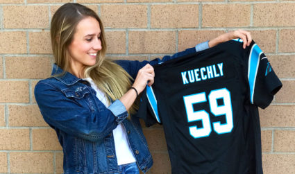 Step up your Panthers game-day attire. Here are a few boutique...