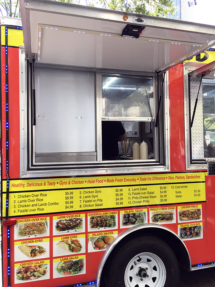 Trade And Tryon Uptown Charlotte Halal Food Truck