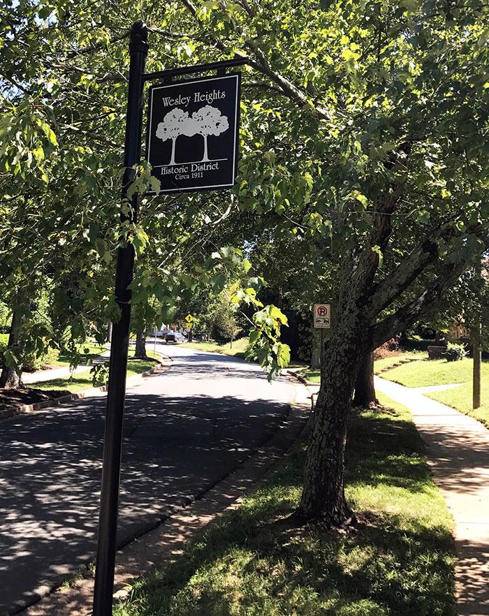 wesley-heights-neighborhood