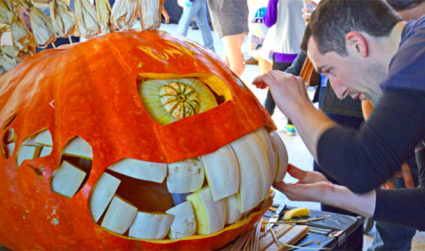 GUTS Pumpkin Carving Competition