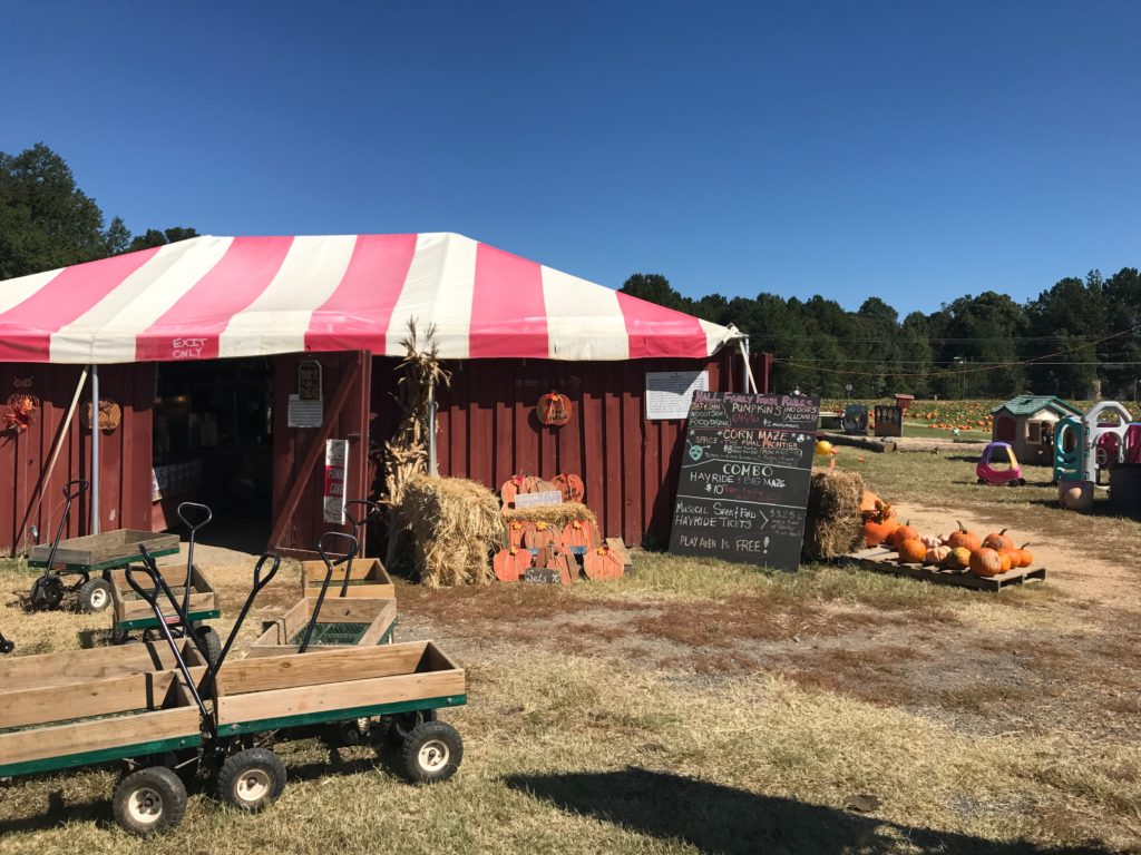 Hall Family Farm is ready for fall with hayrides, a corn maze, pumpkins and apple cider doughnut sundaes