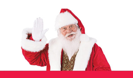 Don't miss Santa this season! Visit with him from now until December 24 at SouthPark a Simon Mall, hours may vary