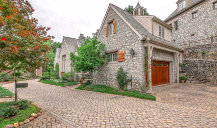 "Tiny subdivision of 17 homes creates ""French Village"" with cobblestone streets..."