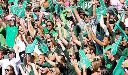 Party on with Niner alumni at UNC Charlotte's Green and White Social on October 20, 7:30-10:30 p.m. at All American Pub, tickets $15+, use promo code AGENDA for $5 off registration