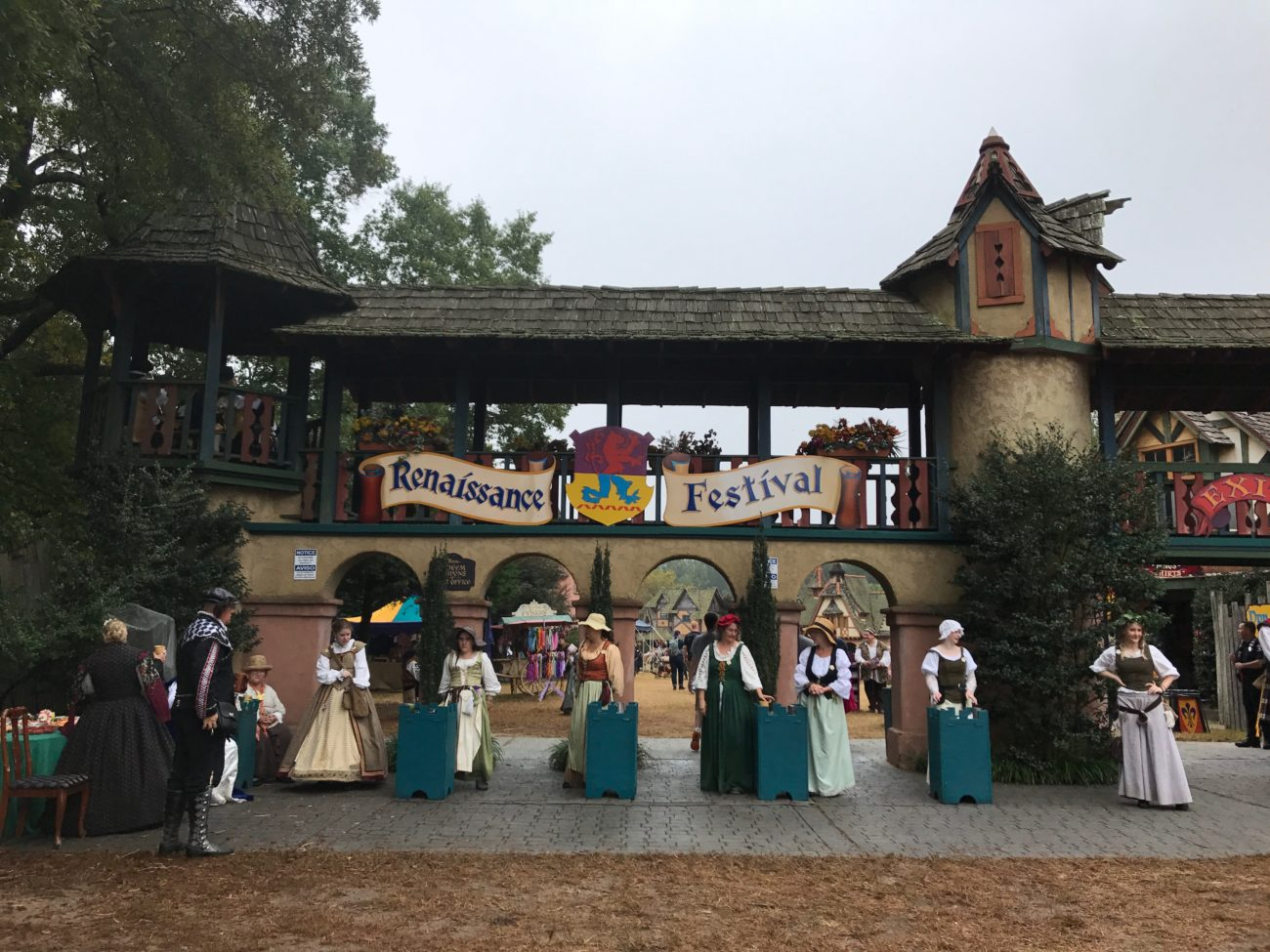 What to expect at the carolina renaissance festival a 24 for Traditions charlotte nc