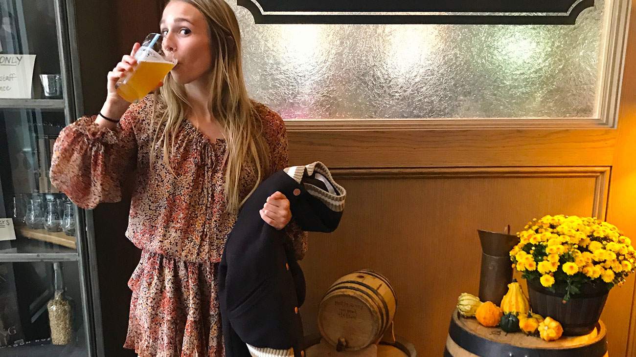 What to wear to a Charlotte brewery — from a $21 top to a pair of $460 glittered sneakers