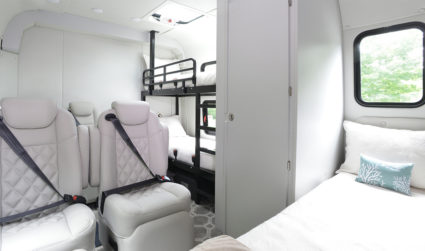 Luxury hotel-on-wheels debuts in Charlotte to compete against air travel