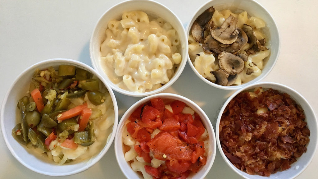 "Potbelly rolls out ""choose your toppings"" mac and cheese today"