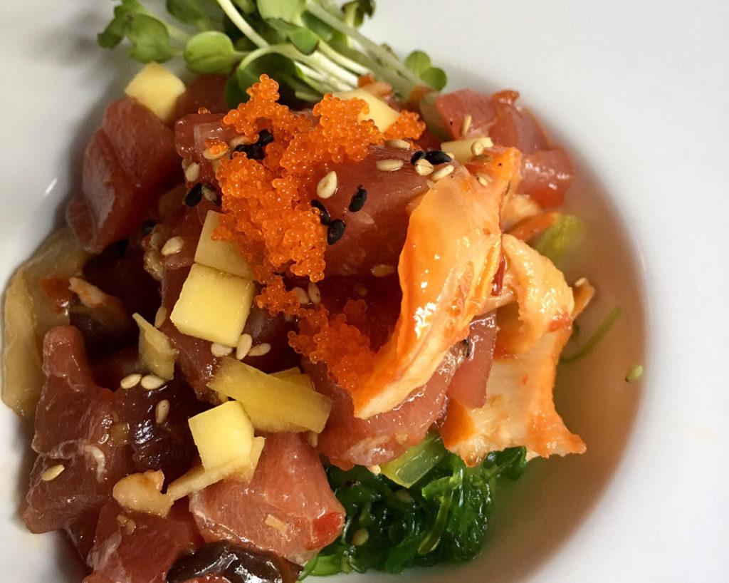 O-Ku Sushi debuts fall menu items including Tuna Tart and Goldentail