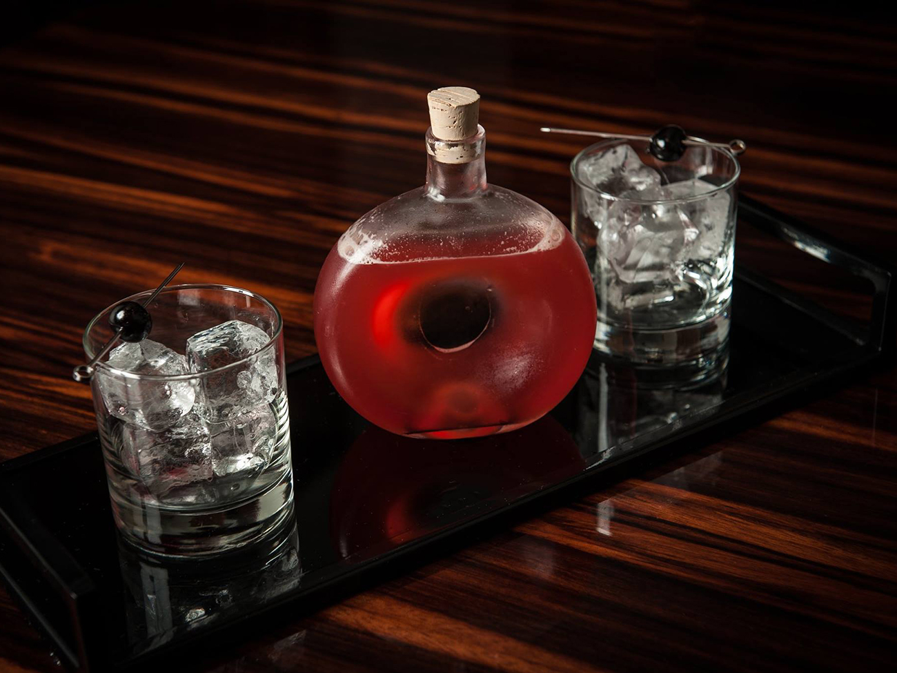 Grab a group and share these 7 giant punches and cocktails