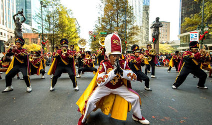 Join in on the holiday fun at 2017 Novant Health Thanksgiving Day Parade on November 23, spanning uptown from N Tryon to Stonewall
