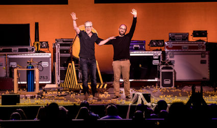 Get ready for mind-blowing demonstrations and more by Adam Savage and Michael Stevens at Brain Candy Live at Ovens Auditorium on December 9