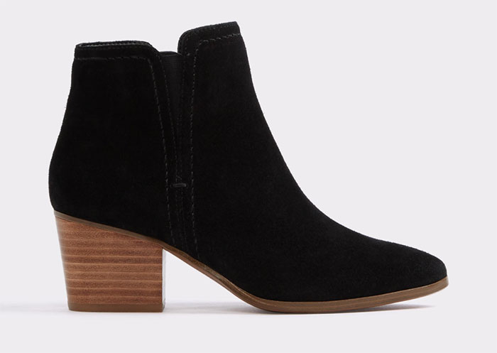 Aldo Larissi Black Booties $100