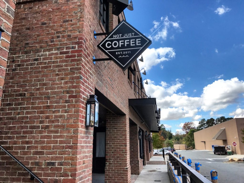 Not Just Coffee's new Dilworth location is opening soon with cocktails and an expanded food menu