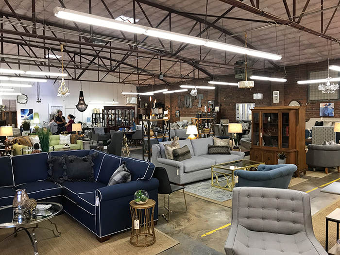 the reinvented charlotte furniture store is a treasure