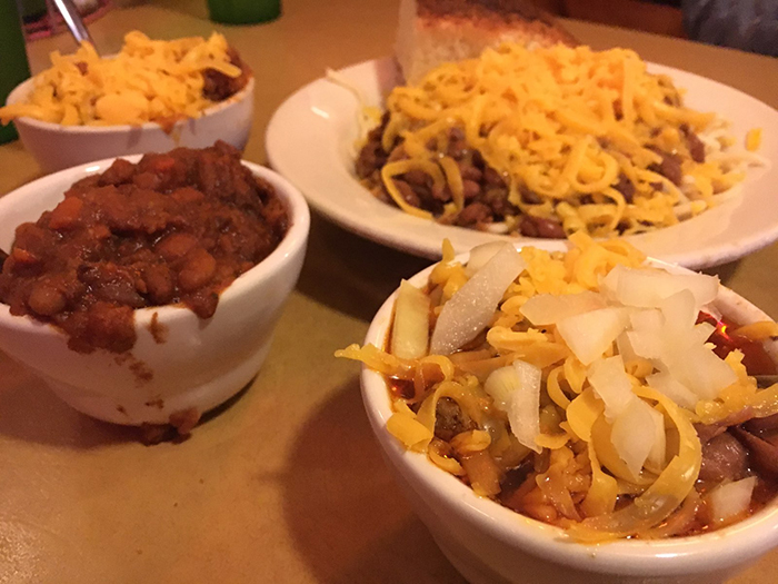Lupie's texas chili