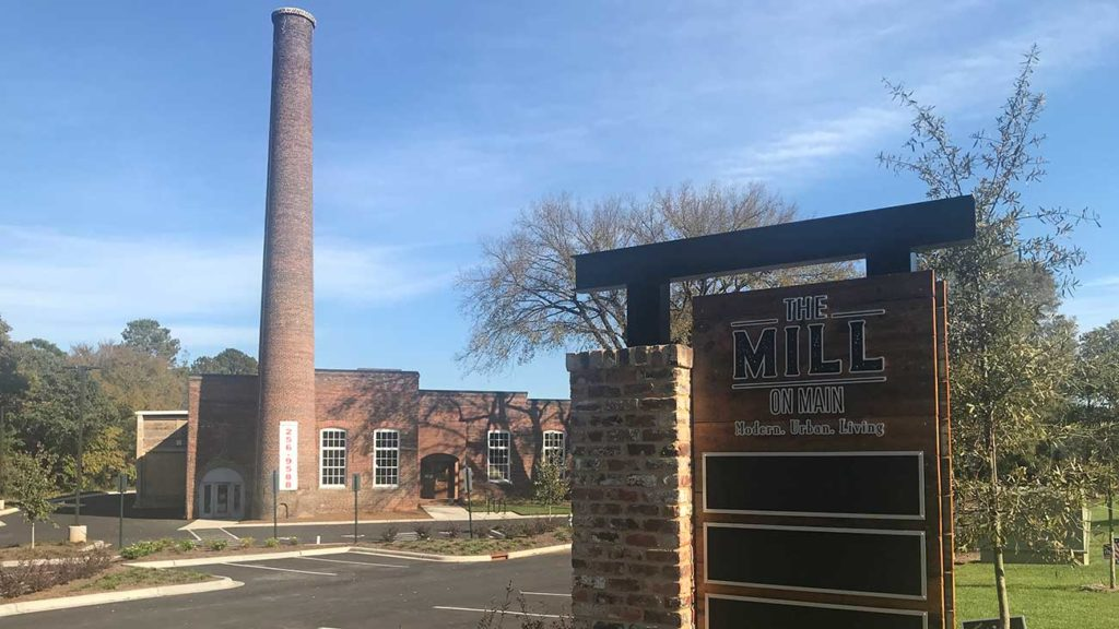 Downtown Waxhaw's first apartments now open in renovated historic cotton mill