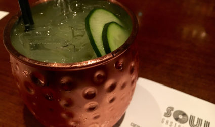 What's up with Soul Gastrolounge's Cucumber Mule on tap?