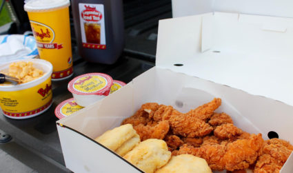 Bojangles' is taking your tailgate to the next level. Enter to...