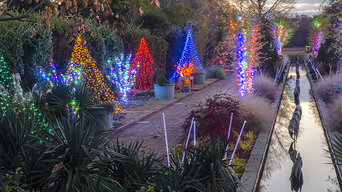 Experience holiday lights like a pro at holidays at the - Daniel stowe botanical garden christmas ...