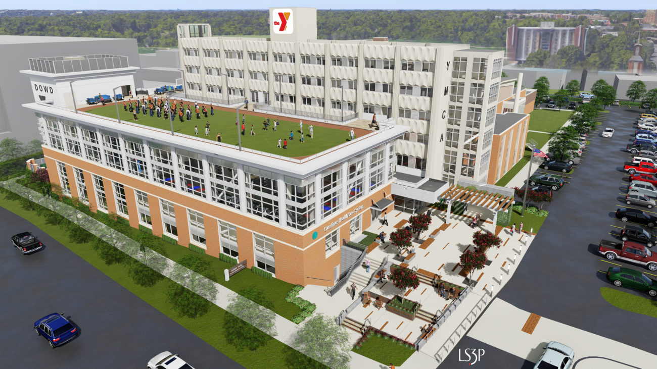 Inside the Dowd YMCA's massive $29 million expansion, opening in 2018