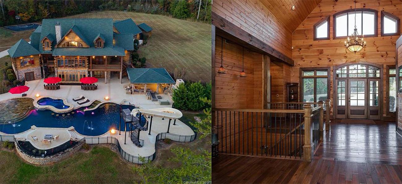 Playful, lakefront home of former MLB All-Star asks $4.8M for 148 acre estate