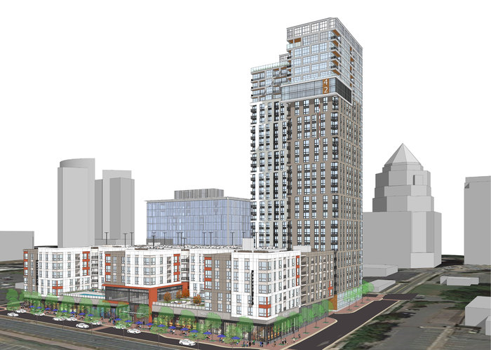 The Market 42 High Rise Apartment Project Is Ready To