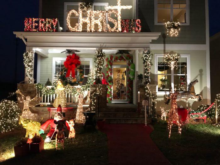mcadenville christmas house