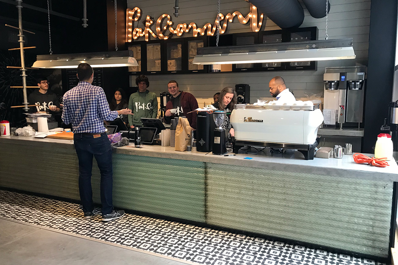 New York-based espresso and coffee shop now open in Uptown — and they've got a grab-and-go window